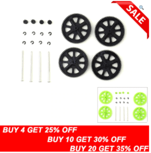 Quadcopter Pinion Gear Spare Parts For AR Drone